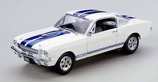 white mustang blue stripes kyosho 1965 shelby mustang gt350 white blue stripes 03121w in