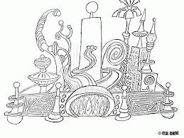 disneyland castle coloring page coloring home