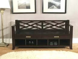 Shoe Storage Bench With Seat with Hall Bench With Shoe Storage Plans Hallway Bench With Storage