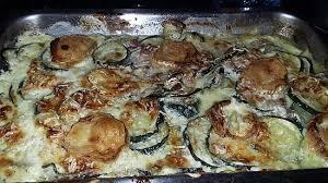 cuisine courgettes recette de gratin de courgettes au jambon et au chèvre
