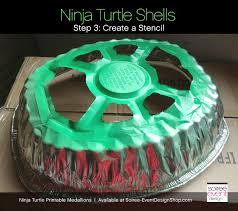 diy teenage mutant ninja turtle party decorations turtle shells