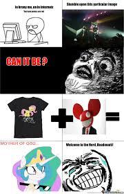 Brony Memes - deadmau5 is a brony now by novagreysun meme center