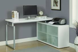 Small Corner Desk With Storage 8957