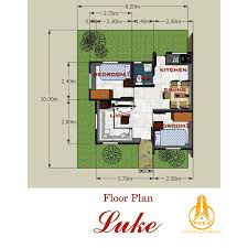 Verdana Villas Floor Plan by La Villa Concha Kabankalan Luke Model Pres
