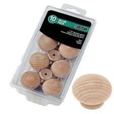 Wooden Cabinet Knobs Wood Cabinet Knobs Cabinet Hardware The Home Depot