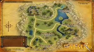 Lotr Map Lord Of The Rings Online Game Review