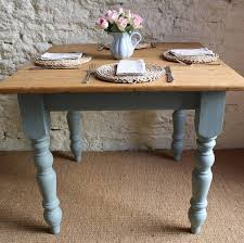 light colored kitchen tables blue painted kitchen table spurinteractive com