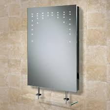 Bathroom Mirror With Shelves Heated Bathroom Mirrors Demister Fog Steam Free Pads