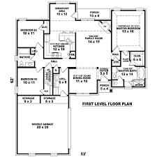 contemporary style 1674 sqft economic house plan design