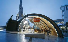 blabber etcetera spiral cafe by marks barfield architects