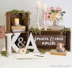 Hobby Lobby Table 103 Best Rustic Wedding Decor Images On Pinterest Wedding Decor