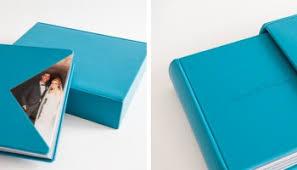 10x13 photo album wedding album with turquoise napa leather