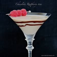 clear chocolate martini chocolate raspberry tini
