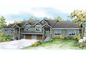 Duplex Plan by Craftsman House Plans Vancouver 60 031 Associated Designs