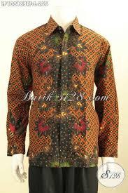 desain baju batik halus desain baju batik pria terkini busana batik halus motif mewah