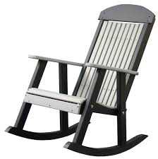 Chair Furniture Amish Outdoor Rocking Four Seasons Furnishings Amish Made Furniture Luxcraft Poly