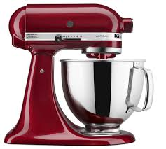 Kitchen Aid Knives Kitchenaid 5 Quart Artisan Stand Mixer Ruby Red Everything