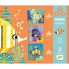 cuisine bois djeco primo puzzle fishes djeco jeujouet co uk