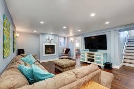 trendy design basement paint colors light in a dark finish pros