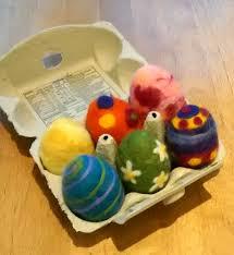 felted easter eggs felted easter eggs