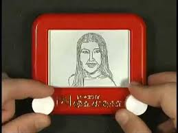 abc the view etch a sketched by c b the etch a sketch man youtube