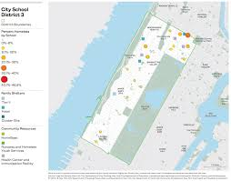 Harlem New York Map by On The Map The Atlas Of Student Homelessness In New York City