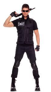 mens costumes swat commander mens costume swat team costume walmart