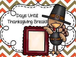 thanksgiving countdown by limars teachers pay teachers