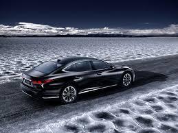 xe lexus chay bang dien sedan lexus ls500h hybrid sẽ trình làng tại triển lãm geneva 2017