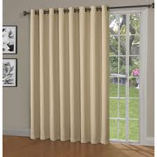 Blackout Patio Door Curtains Blackout Woven Blackout 108 In W X 84 In L