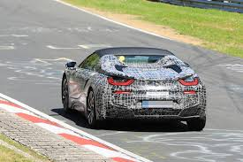 Bmw I8 Convertible - bmw i8 spyder looks ready for production in latest nurburgring