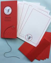 letter writing paper sets dog letter writing set in red by olliepops at the red door