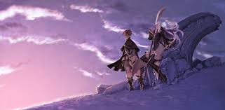 Magnolia Wallpaper Boots Bravely Second Cape Long Hair Magnolia Arch Male Miwa Shirow