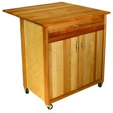catskill craftsmen natural kitchen cart with butcher block top catskill craftsmen natural kitchen cart with butcher block top