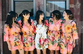 and bridesmaid robes and bridesmaids robes wedding getting ready essentials