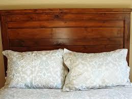 rustic wood headboard twin home design ideas