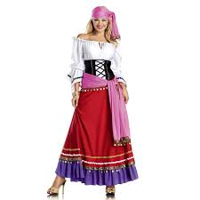 Womens Costumes Tempting Gypsy Womens Costume Halloween Costume