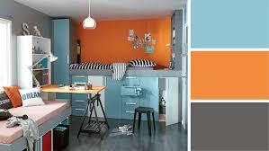 chambre ado vert photo chambre orange et vert idées de décoration capreol us