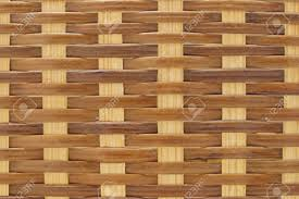 close up background texture of rattan wicker basket stock photo