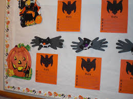 patties classroom halloween pumpkins and bat art