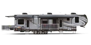 Rear Kitchen Rv Floor Plans by 2017 Seismic Toy Hauler Jayco Inc