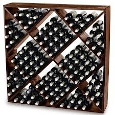 Walnut Wine Cabinet Wooden Wine Racks Full Wood Wine Rack Selection Wine Enthusiast