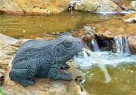 bermuda frog pond water spitter co uk garden outdoors