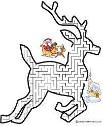 free printable reindeer activities 196 best лабиринти images on pinterest kindergarten kids mazes