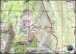 Lake Powell Map Hiking Ruth Lake Western Uintas Road Trip Ryan