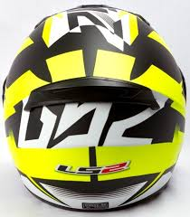 yellow ff ls2 ff 352 dyno black yellow fluo matt helmet custom