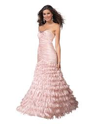 clarisse prom dress 1510 light pink trumpet formal dress with