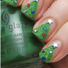 christmas nail art ideas easy but awesome ways to get festive