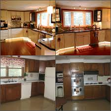 redoing kitchen cabinets in a mobile home refinishing kitchen