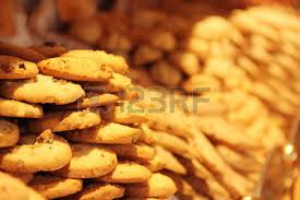 assortment of typical french cookies traditional biscuits on